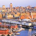 Het historische centrum van Genua