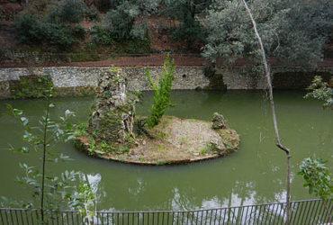 Laghetto dell'Alessi e Torre di Villa Doria